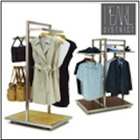 Pearl District Display Racks
