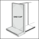 Aisle Gondola End Cap Units