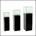 Tecno Pedestal Showcases & Stands