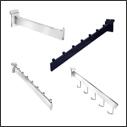 Slatwall Panel Straight Arms & Waterfalls