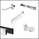 Slatwall Fixture Hangbar Displays