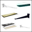 Slatwall Panel Shelves & Brackets