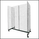 Wire Slatgrid Fixtures