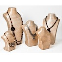 Organic Jewelry Displays & Forms