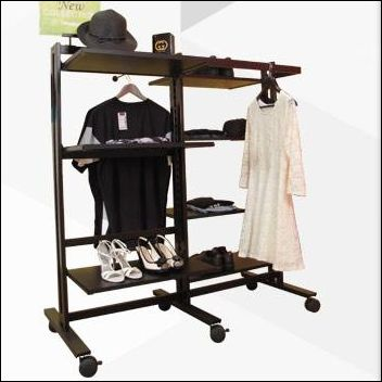 Vertik Shelving and Clothing Stands