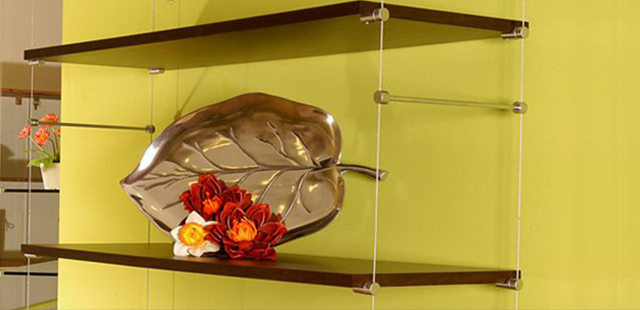 Wall Mounted Cable Shelving Systems