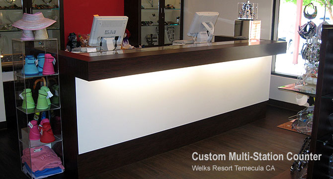 Shop Counter Design www.woodworking.bofusfocus.com