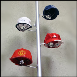 Rod hat Displays, perfect for a retail environment. Wide Variety and Excellent Quality from Creative Store Solutions.