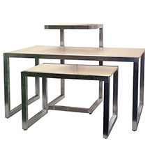 Retail Nesting Display Tables Clothing Display Tables