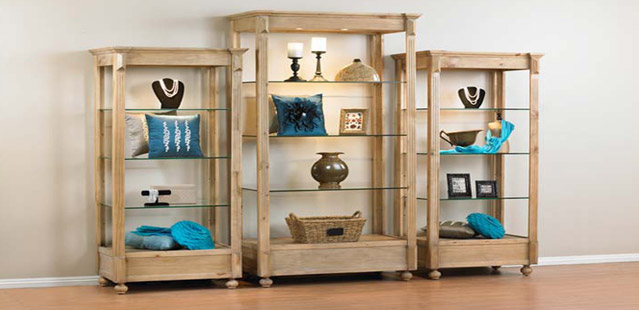 European Style Painted Display Wall Units & Etageres, Jewelry Cases, European style tables perfect for a retail environment. Wide Variety and Excellent Quality from Creative Store Solutions.