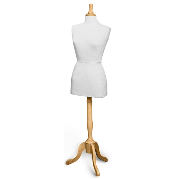 Female Dress Form With Base | Complete French Style Dress Forms ...