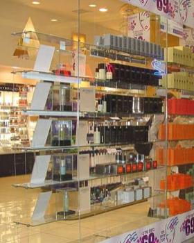 Ceiling Amp Floor Cable Glass Shelving Kit 3 Shelves