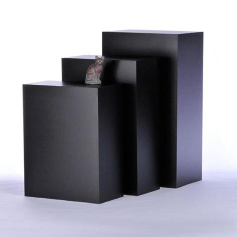Tecno Rectangular Gallery Pedestals Free Standing