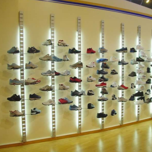 96 Quot Metal Slat Strips Surface Mounting Wall Display