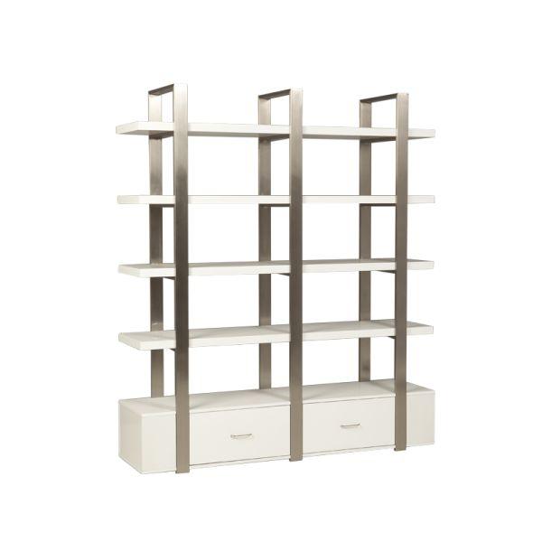 moderne double etagere d b imports. Black Bedroom Furniture Sets. Home Design Ideas