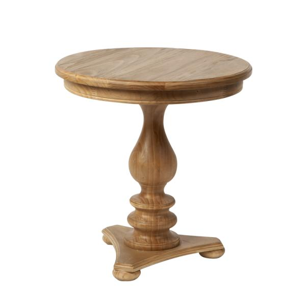 european small pedestal table d b imports. Black Bedroom Furniture Sets. Home Design Ideas