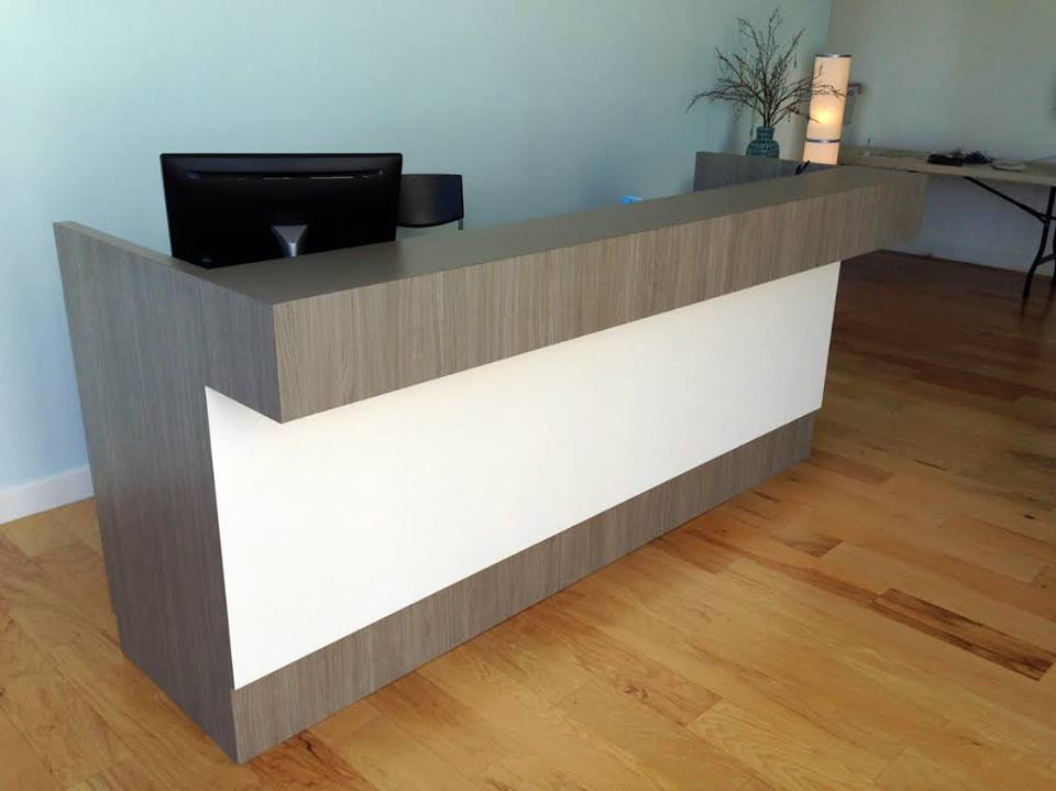 Dual Station Ledge Counter Sales Amp Service Counter