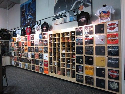 T Shirt Wall Cabinet Shirt Display Fixture Creative Store Solutions