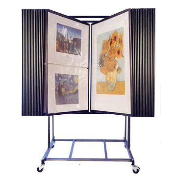 30 Panel Adjustable Fine Art Display