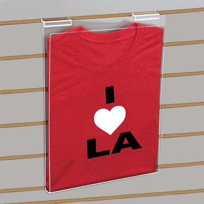 Slatwall T-Shirt Display