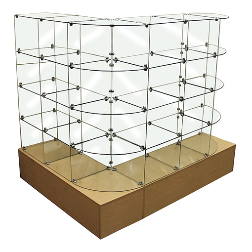 Glass Bin L-Display