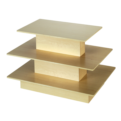 Three Tier Rectangular Table
