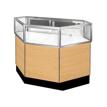 Standard Inside Corner Jewelry Showcase