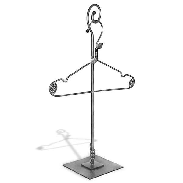 Scroll Top Blouse Stand