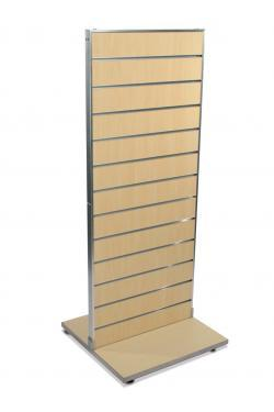 Double Sided Slatwall Merchandiser