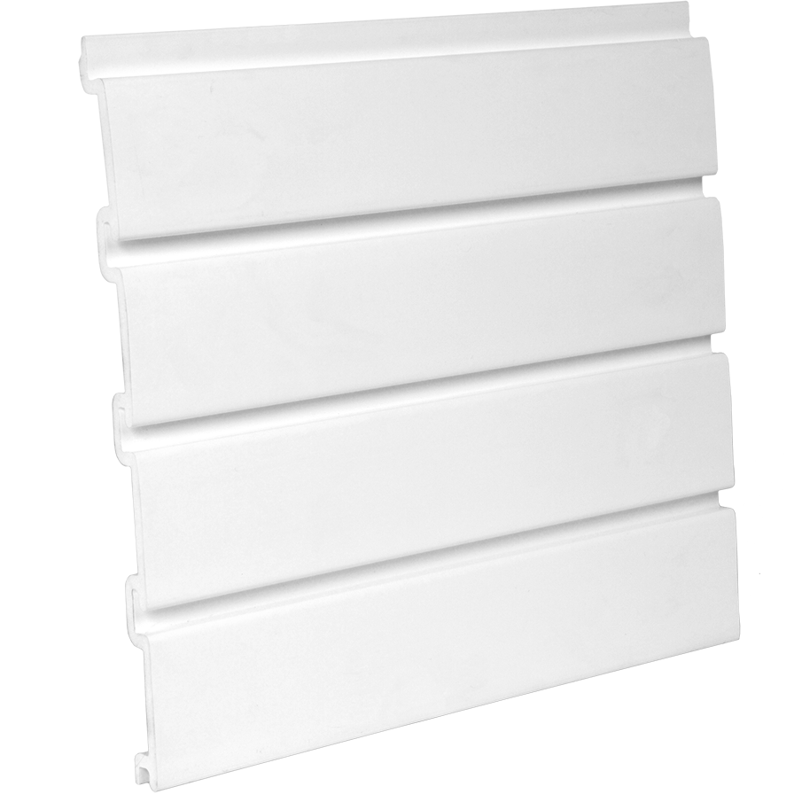 Pvc White Slatwall Panel