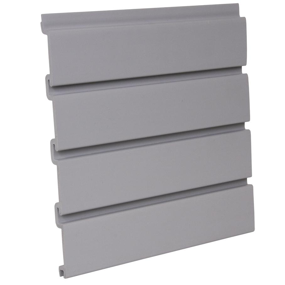 Pvc Grey Slatwall Panel