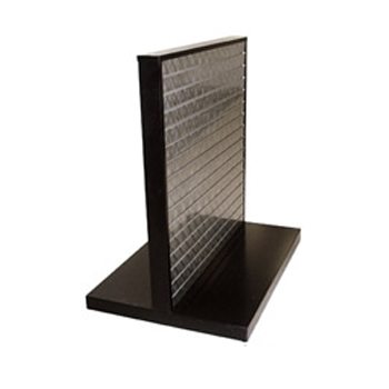 Steel Slatwall T-Shape Display