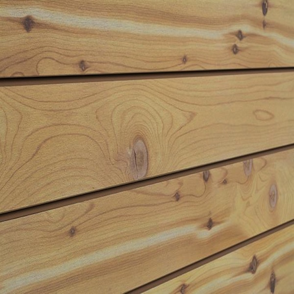 Cedar Natural Wood Slatwall Panel