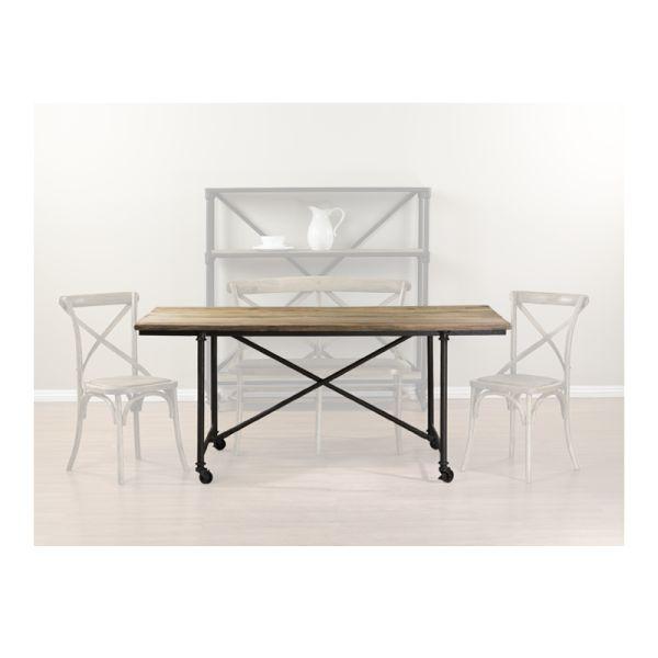 Loft Reclaimed Elmwood Table