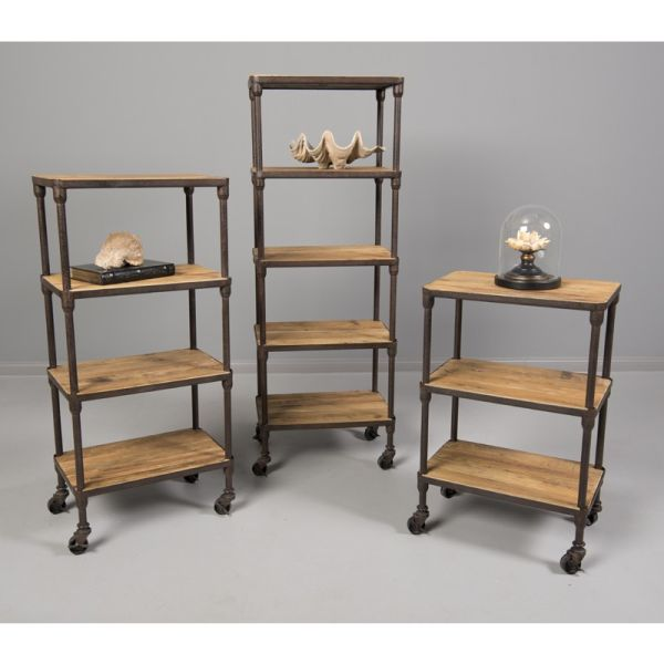 Loft Reclaimed Elmwood Multi Tier Stands