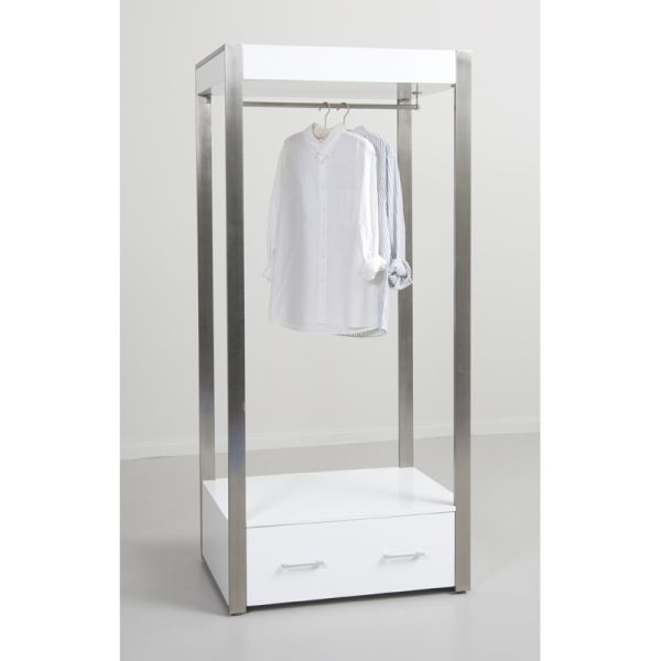 Moderne White Gloss Hanging Stand