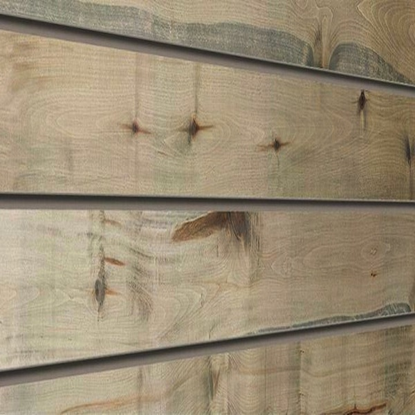 Driftwood Natural Wood Slatwall Panel Textured Slot Wall