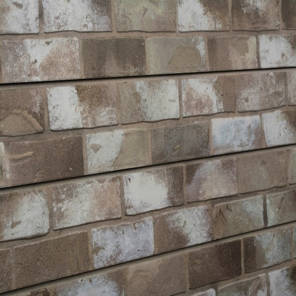 Taupe Brick Slatwall Panel
