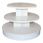 3-Tier Multi Level Round Table