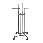 Pipeline 4-Way Clothing Rack