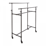 Pipeline Double Bar Clothing Rack