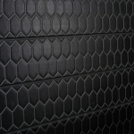 Honeycomb Black Tile Slatwall Panel