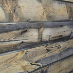 Blue Stain Pine Natural Wood Slatwall Panel