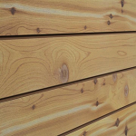 Cedar Natural Wood Slatwall Panel