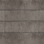 Natural Architectural Concrete Slatwall