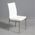 Moderne White Gloss Chair
