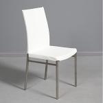 Moderne White Gloss Chair