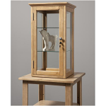 European Style Counter Curio With Lock
