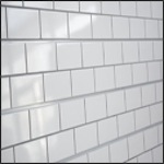 Subway Tile Slatwall Panel