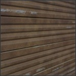Corrugated Metal Slatwall Panel